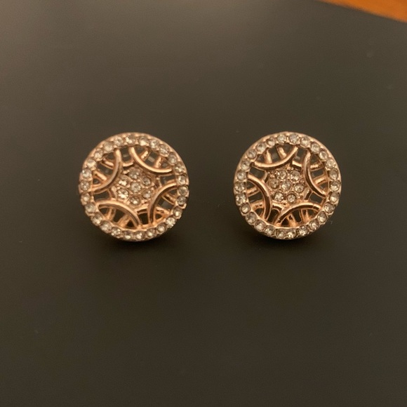 Jewelry - Rose Gold and CZ Studs